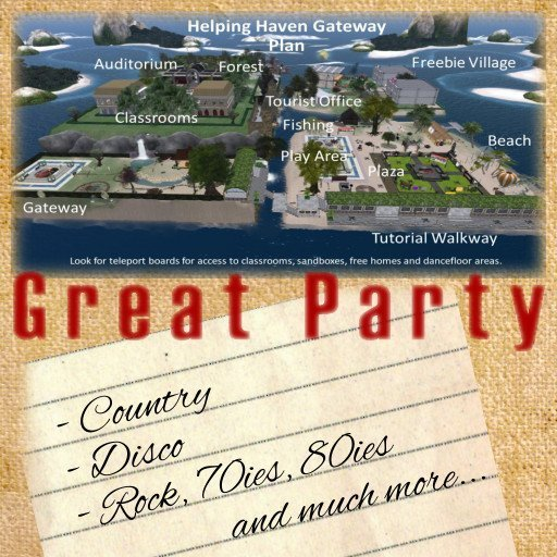 Helping Heaven Parties