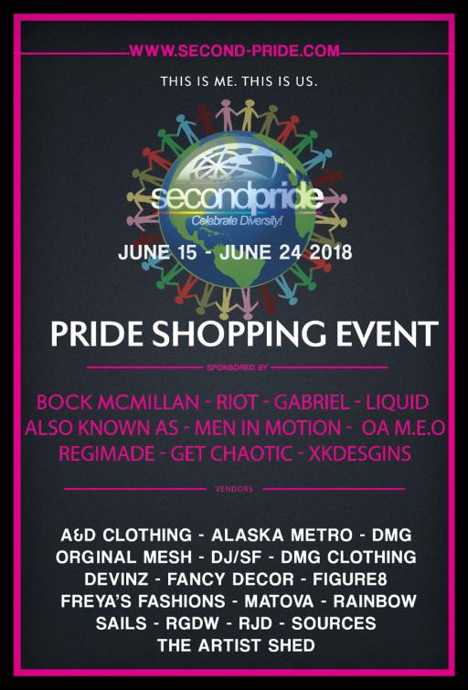 Second Pride June 2018