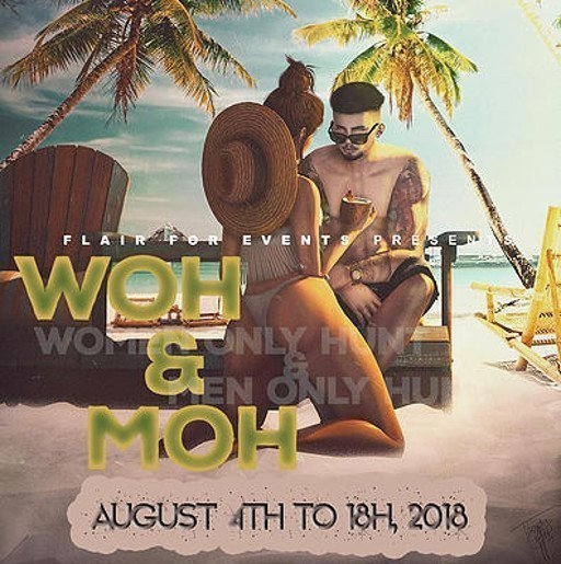 WoH MoH August 2018