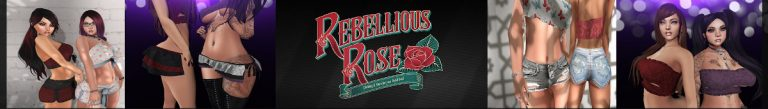 Rebellious Rose Banner