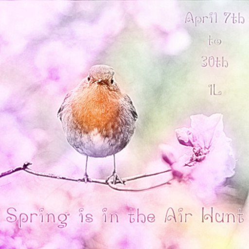 Spring is in the Air Hunt April 2019