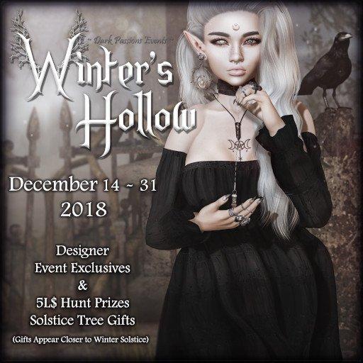 Dark Passion Winter's Hollow - December 2018