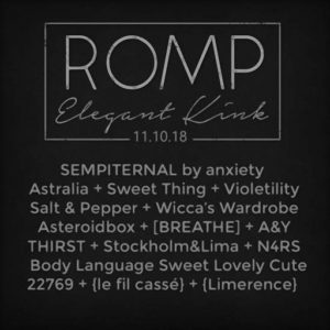 ROMP November 2018
