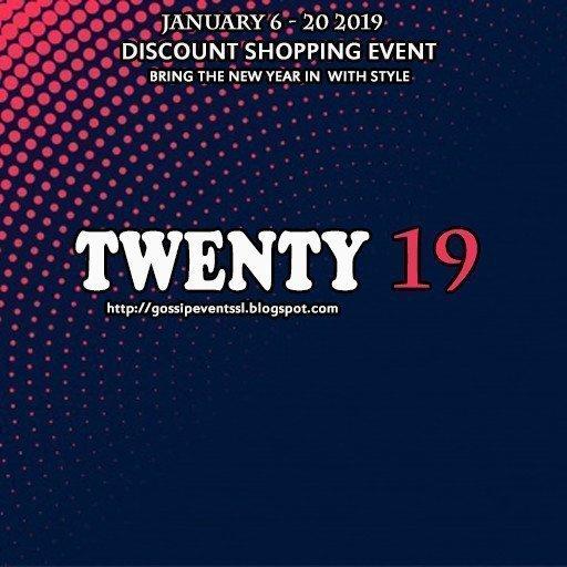TWENTY19 EVENT POSTER