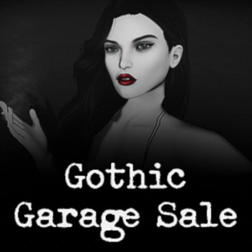 Gothic Garage Sale 2019