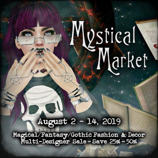 DP Mystical Market August 2019