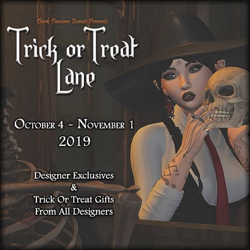 Trick Or Treat Lane - Oct. / Nov. 2019
