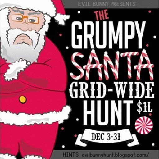 Evilbunny The Grumpy Santa Grid Wide Hunt December 2018