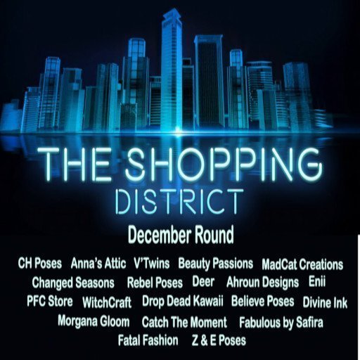 The Shopping District Decebmber 2018