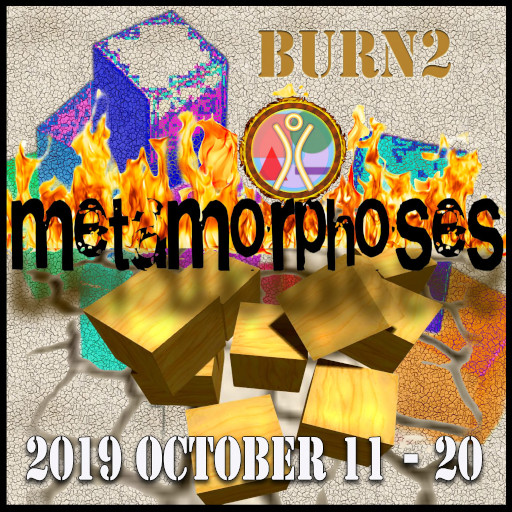 Second Life - Burn2 Event - October 2019