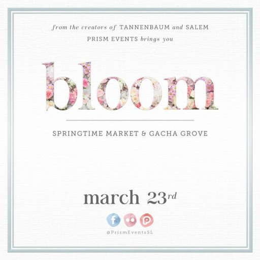 bloom SPRINGTIME MARKET - March / April 2019