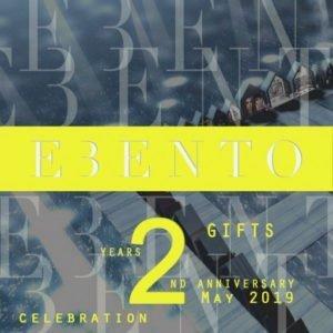 EBENTO 2nd Anniversary May 2019