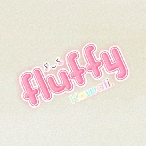 FLUFFY KAWAII Logo 2019