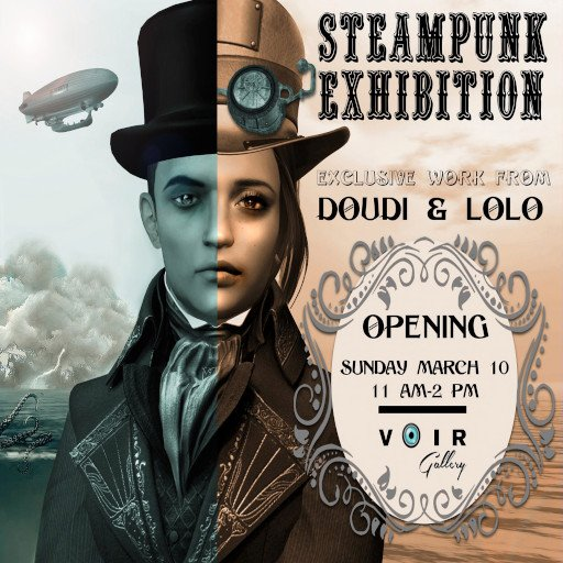 VOIR Steampunk March 2019