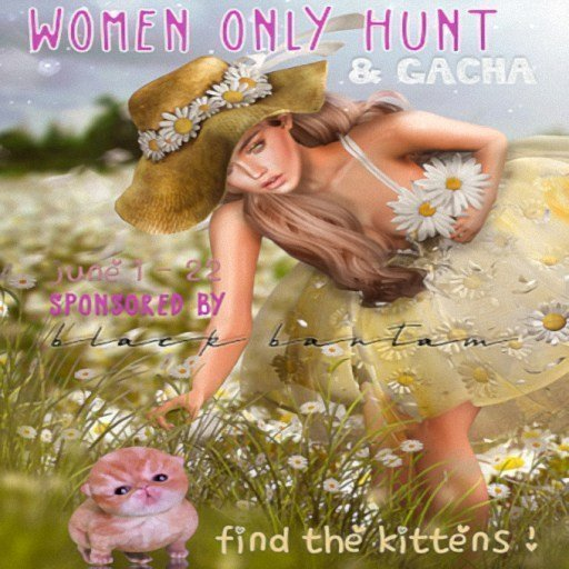 Woman Only Hunt & Gacha – June 2019
