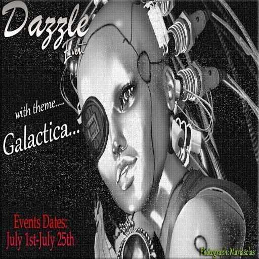 Dazzle Event July 2019 Galactica