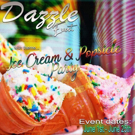 Dazzle Event June 2019 Ice Cream Party