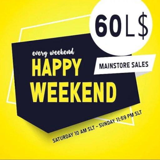 60L Happy Weekend