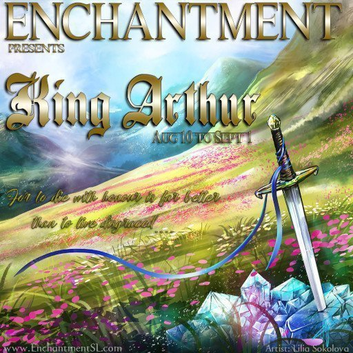 Enchantment August 2019 King Arthur Event