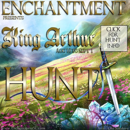 Enchantment August 2019 King Arthur HUNT