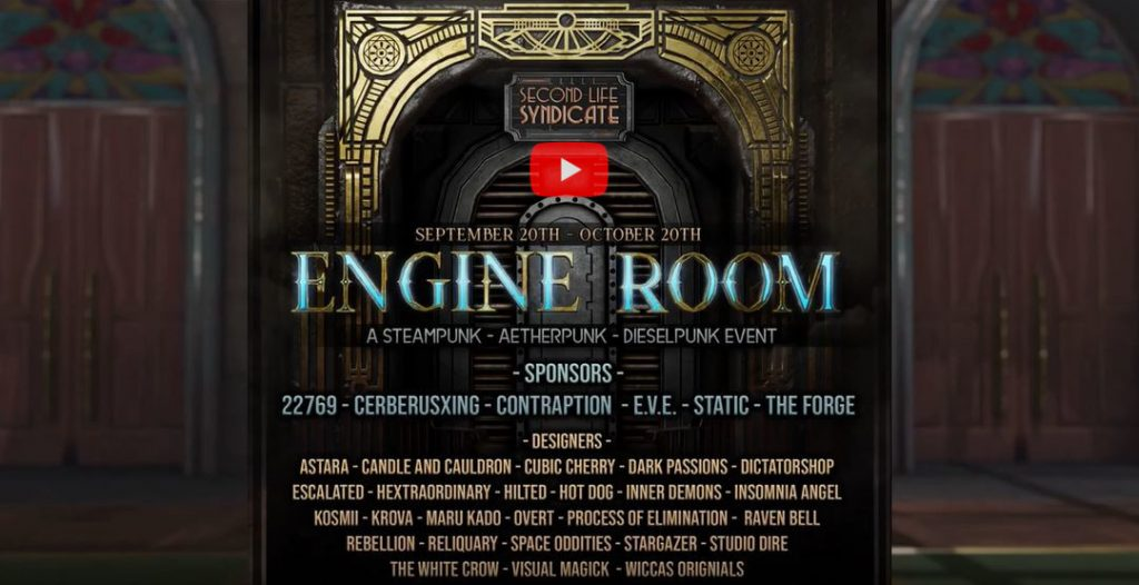 Engine Room September 2019 by Cassie Middles