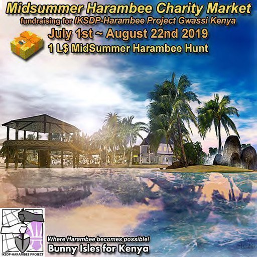 MidSummer Harambee Charity Market - July / August 2019
