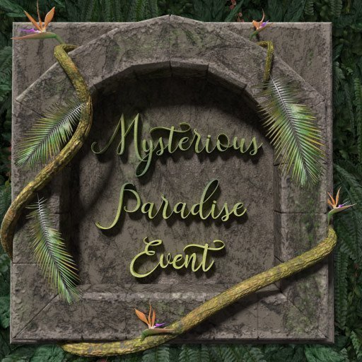 Mysterious Paradise Event Logo 2019