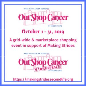 Out Shop Cancer October 2019