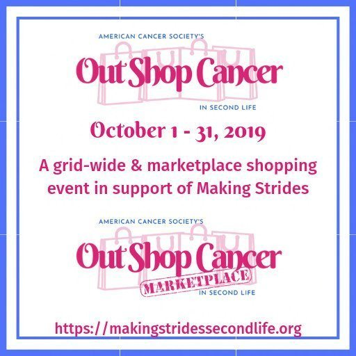 Out Shop Cancer - October 2019
