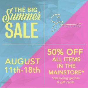 Salt n Pepper The Big Summer Sale 2019