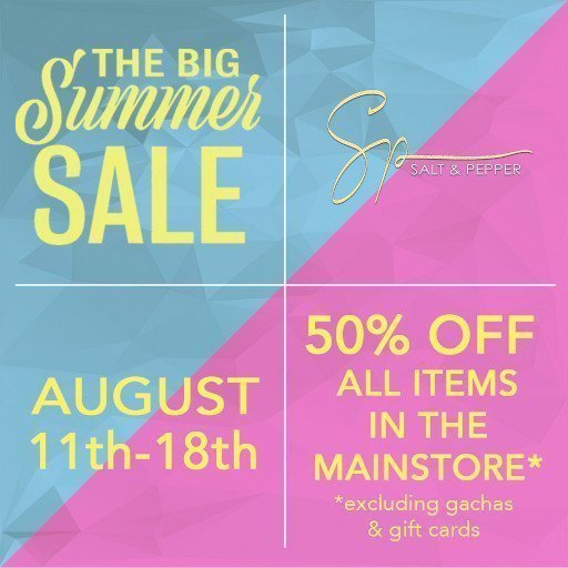 Salt n Pepper The Big Summer Sale 2019