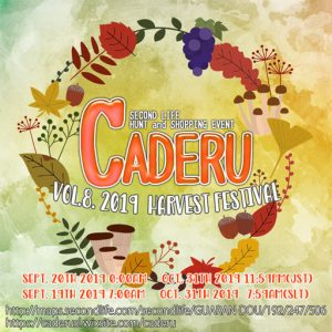 CADERU Festival September 2019