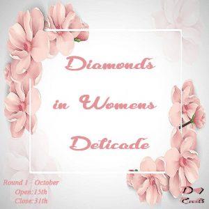 Diamonds in Womens Delicate - October 2019