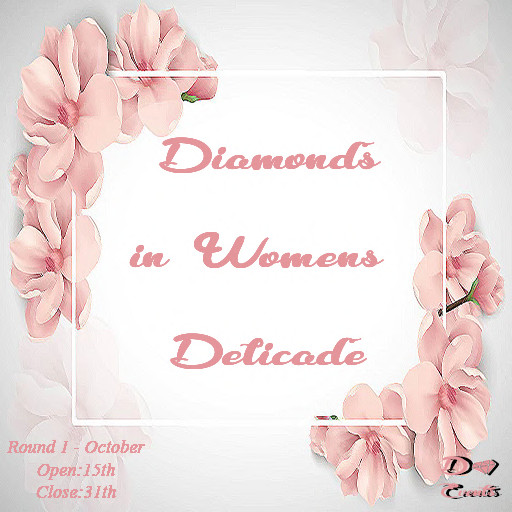 Diamonds in Womens Delicate - October 2019