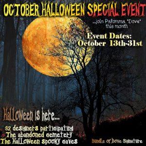 Dove Special Halloween Event 2019