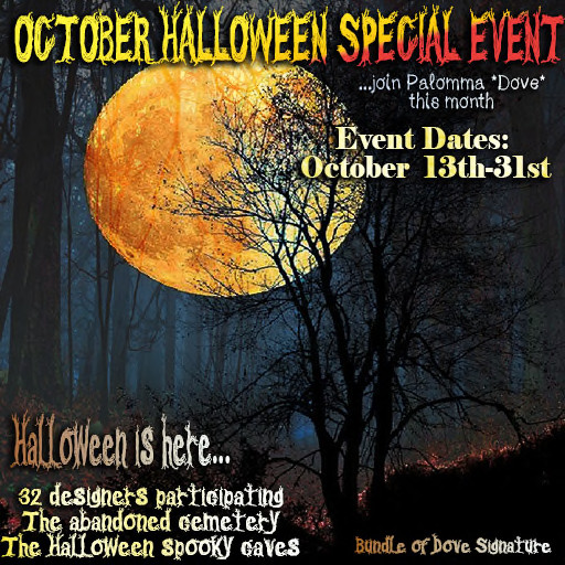 Halloween Special Event by Dove - October 2019