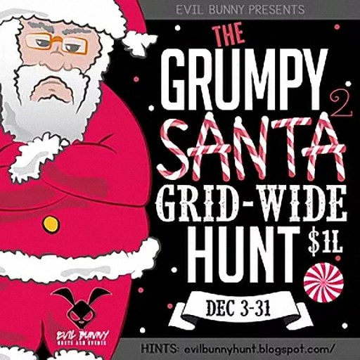 The Grumpy Santa Hunt 2 - December 2019