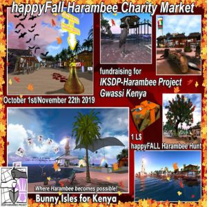 Harambee Charity Market Happy Fall Event 2019