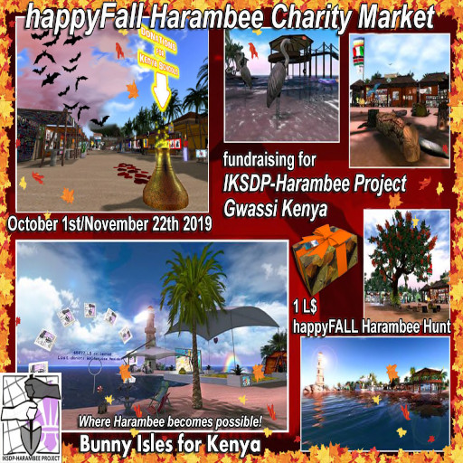 """happyFall"" - Harambee Charity Market - Oct. / Nov. 2019"