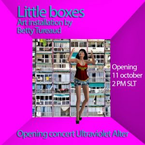 little boxes by Betty Tureaud October 2019