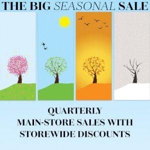 Big Seasonal Sale 2019
