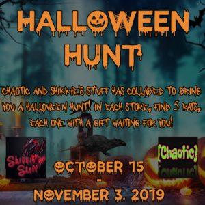 Chaotic Halloween Hunt October 2019