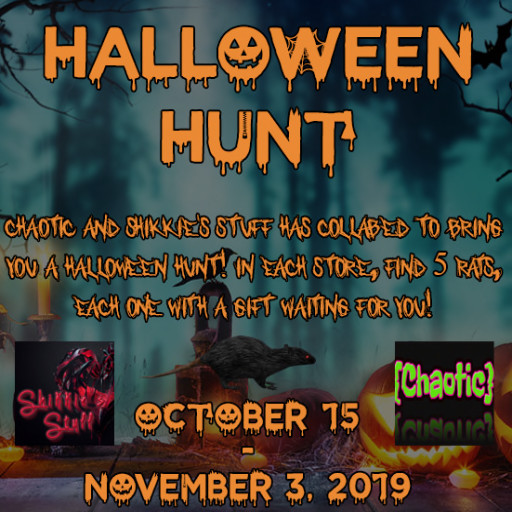 {Chaotic} Halloween Hunt - October 2019
