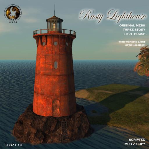 Fantavatar Moonstruck Rusty Lighthouse 2019