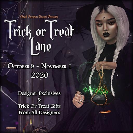 Trick Or Treat Lane October 2020