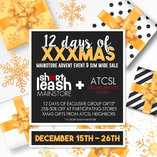 ATCSL 12 Days of XXXmas Sales Event December 2019
