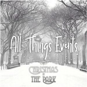All Things Events Logo Christmas In The Park December 2019
