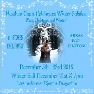 Heathen Court Winter Solstice December 2019