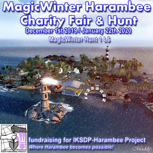 Magic Winter Harambee Charity Fair + Hunt - Dec. 2019 / Jan. 2020