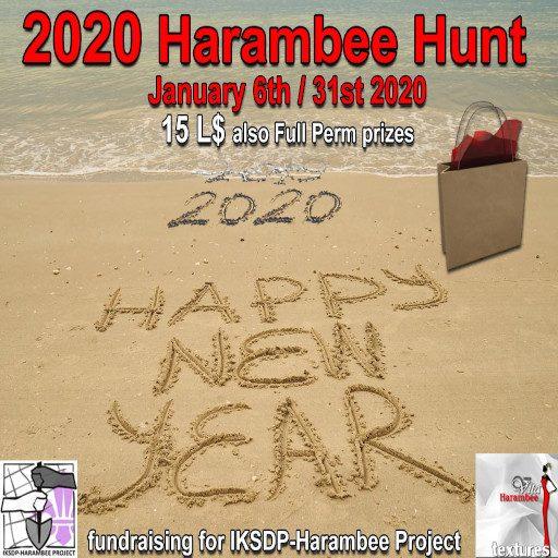 2020 Harambee hunt cover